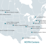Map of HCRN Centers 2016